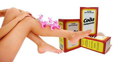 Лечение грибка ногтей содой - Ноготочки