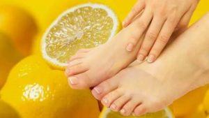 Грибок уйдет при применении лимона