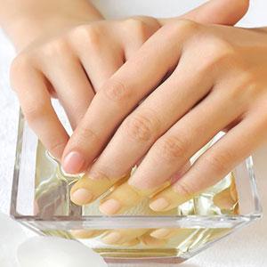 Ванночка от грибка ногтей с уксусом