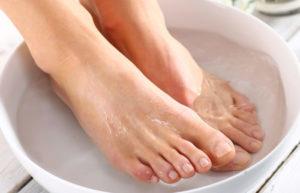 Ванночка с аиром от грибка ногтей