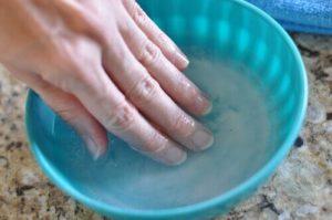 Профилактические ванночки с аиром от грибка