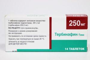 Тербинафин: о препарате